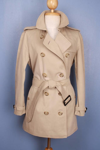 BURBERRY Short TRENCH Coat front