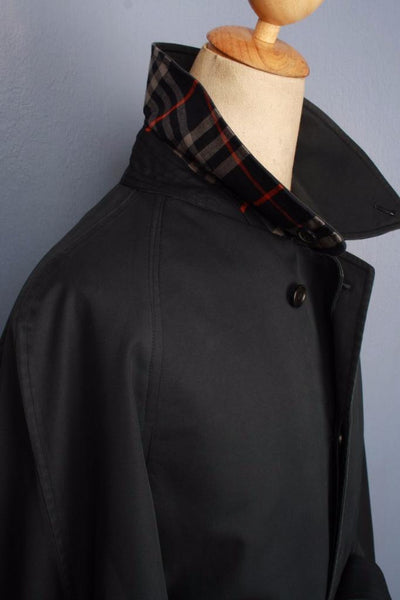 BURBERRY Bespoke Short TRENCH Coat collar side