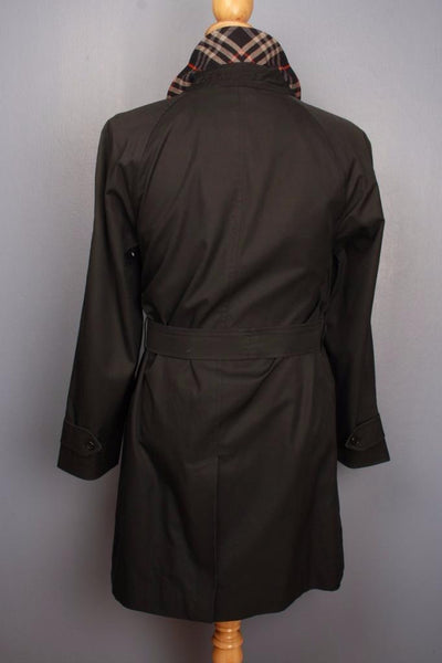 BURBERRY Bespoke Short TRENCH Coat back