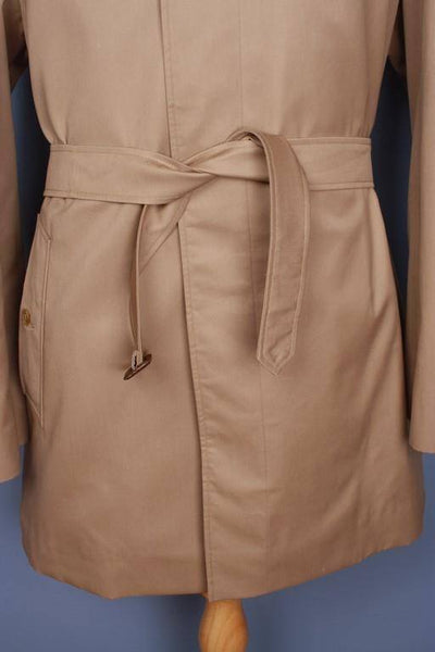 Belt Burberry short trench coat