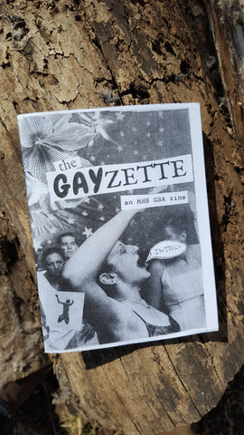 The Gayzette: Intro Issue