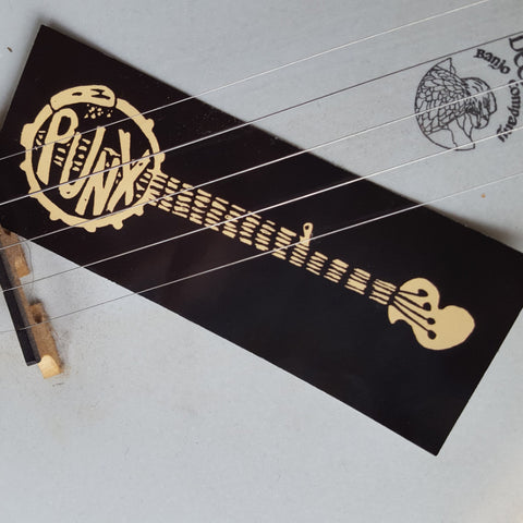 Banjo Punx sticker - Pioneers Press