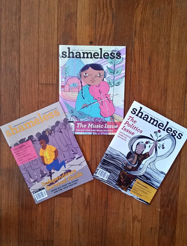 Shameless Magazine 3-pack!