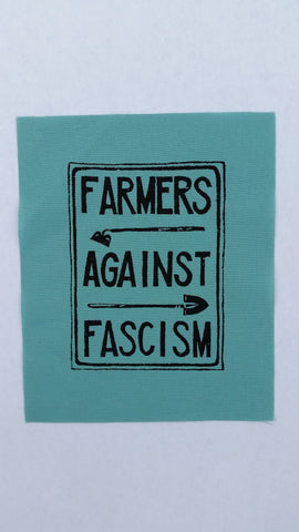 Farmers Against Fascism patch