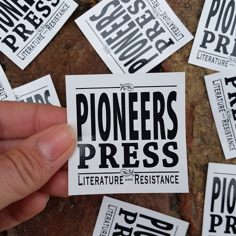 Pioneers Press small sticker