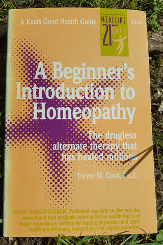 A Beginner's Introduction to Homeopathy (used booklet)