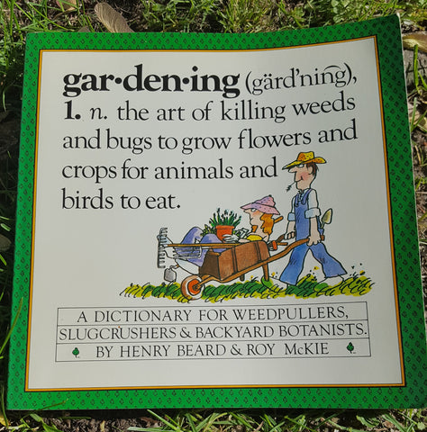 Gardening: A Gardener's Dictionary (used)