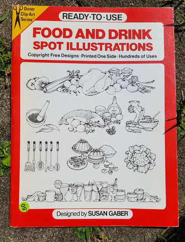 Food and Drink Spot Illustrations