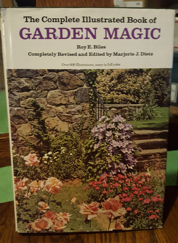 The Complete Illustrated Book of Garden Magic (Hardcover, Used)