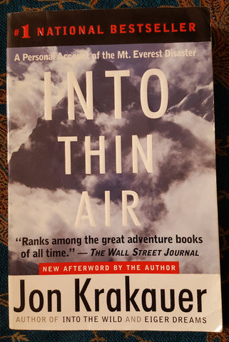 Into Thin Air: A Personal Account of the Mt. Everest Disaster (Used)