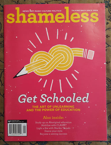 Shameless Magazine: Get Schooled issue