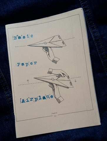 Basic Paper Airplane #10: Freelance Stories - Pioneers Press