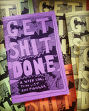 GETSHITDONE--Week-Long To-Do List and Planner