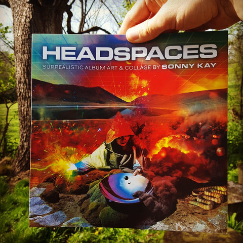 Headspaces: Surrealistic Album Art & Collage by Sonny Kay