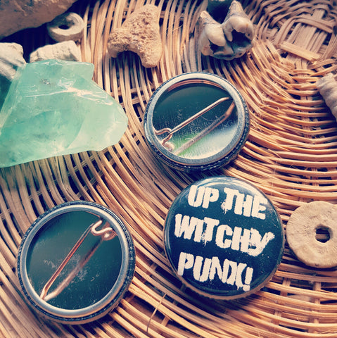 Up the Witchy Punx Pin