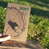 2017 Organizer from Eberhardt Press & Just Seeds (large-size, perfect-bound)