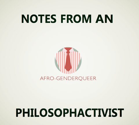 Notes From An Afro-Genderqueer Volume 1 (e-book) - Pioneers Press