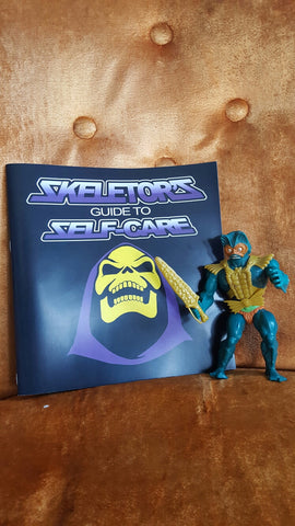 Skeletor's Guide to Self-Care, Expanded Pack, Action Figure Included!