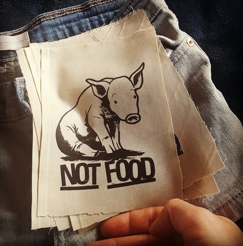 """Not Food"" patch"