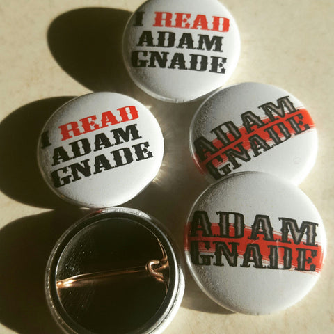 Adam Gnade pin pack