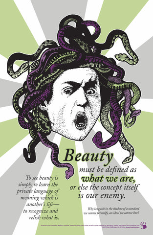 Beauty Subversion Poster - Pioneers Press