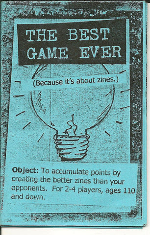 Best Game Over (a card game about zines!) - Pioneers Press