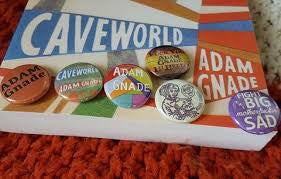 "Adam Gnade 1"" Button Pack"