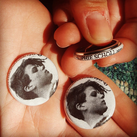 #B02 Sophie Scholl button