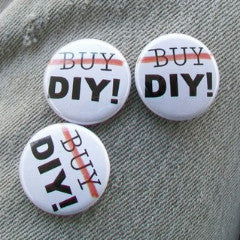Don't Buy/DIY button - Pioneers Press