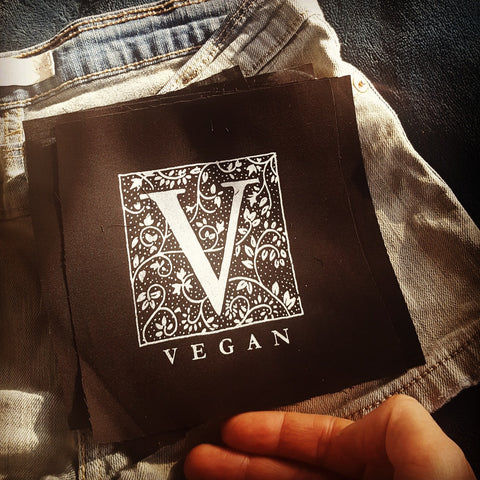 """V - Vegan"" patch"