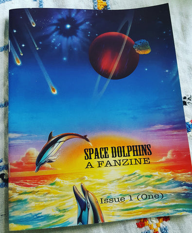 Space Dolphins #1 (One): Biography and Primer