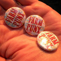 Farm Punx button - Pioneers Press