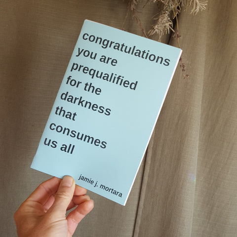 Congratulations You Are Prequalified For The Darkness That Consumes Us All - Pioneers Press