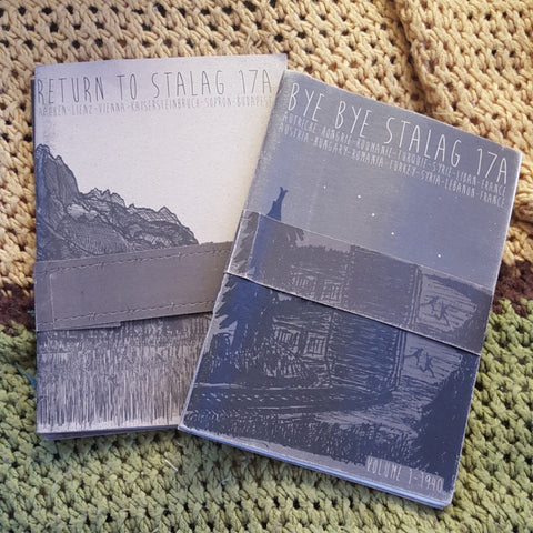 Bye Bye Stalag 17A and Return to Stalag 17A (bundled double zine set) - Pioneers Press