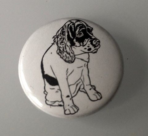 Gee Gee button, a benefit for Second Chance Dog Rescue - Pioneers Press
