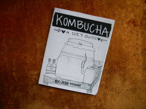 Kombucha--A DIY Guide - Pioneers Press