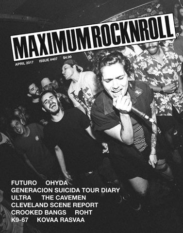 Maximum Rocknroll #407, April 2017