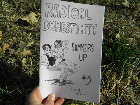 Radical Domesticity Issue Three - Pioneers Press