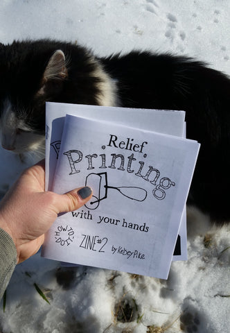 Relief Printing with Your Hands - Pioneers Press