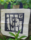 Rise Above Factory Farming Tote Bag