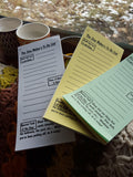 The Zine Maker's To Do List