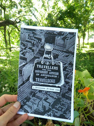 Travelscan: A Brainscan 24-Hour Zine - Pioneers Press