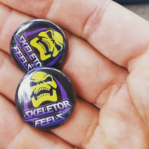 Skeletor Feels button