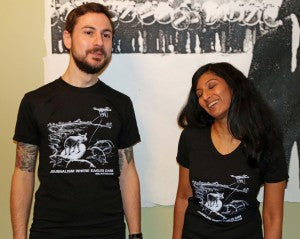 Journalism Where Eagles Dare T-Shirt