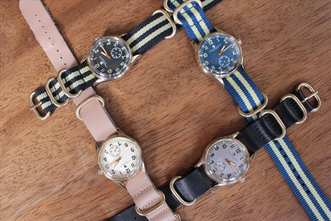 Crowder ATP Watch Designs With NATO Style Straps In Leather & Nylon