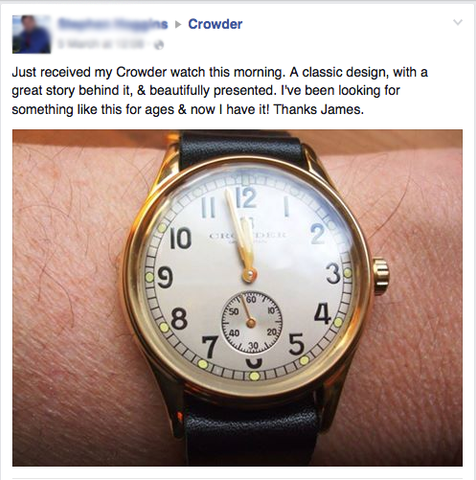 Crowder Watch Review 2