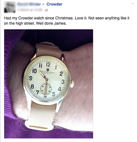 Crowder Watch Review 1