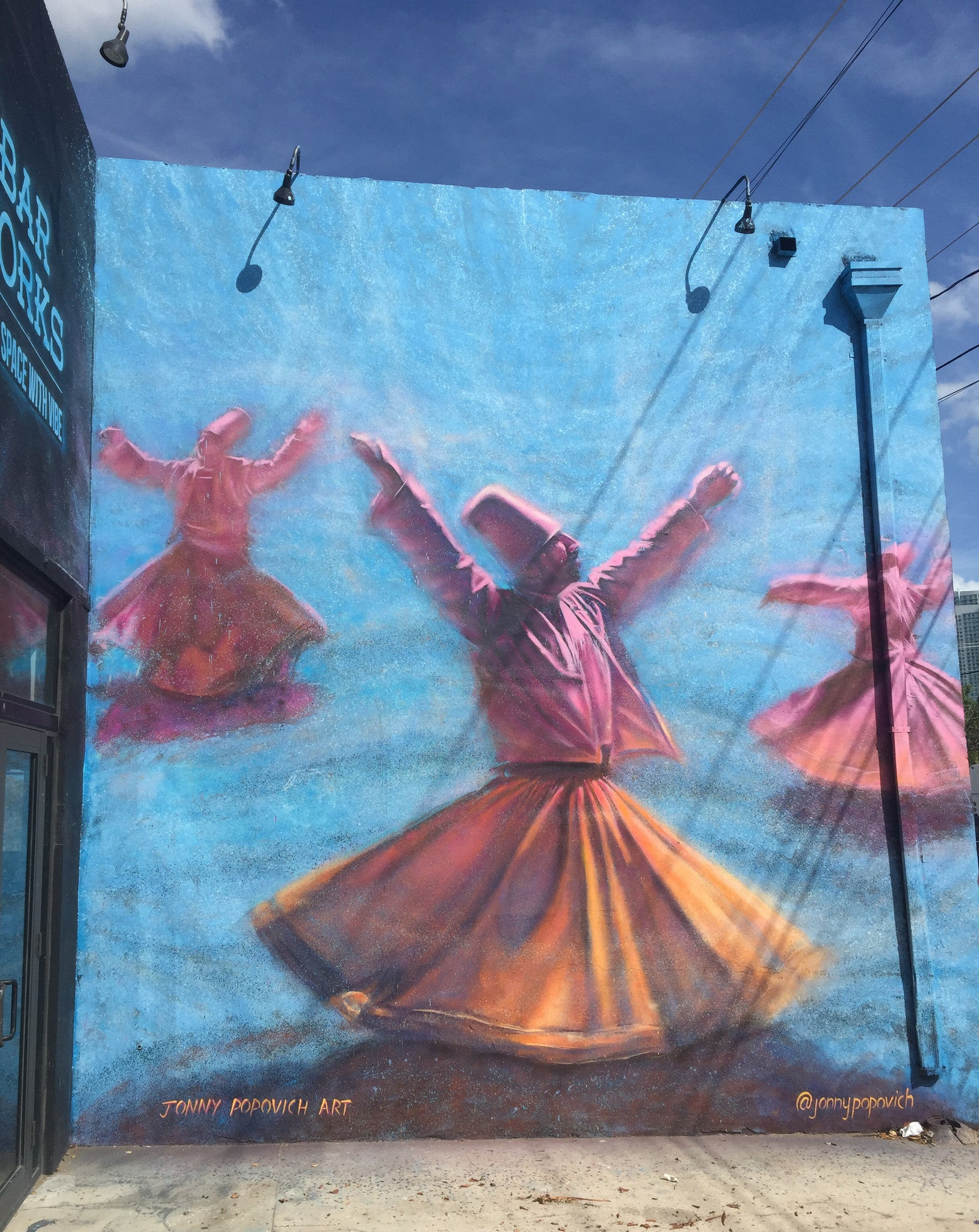 The Wynwood Whirling Dervishes, Miami