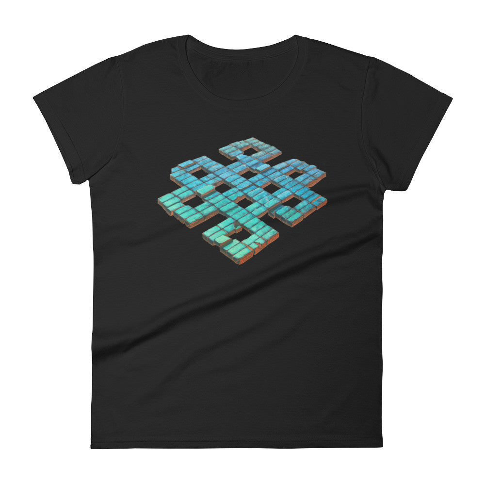 """Infinite Knot"" Women's short sleeve t-shirt"