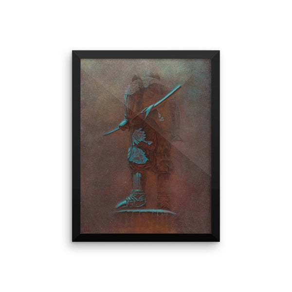 """The Samurai"" Framed poster"